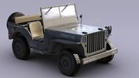 US Army Willys Jeep -B