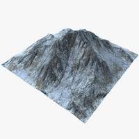3d landscape mountains