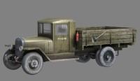 3d wwii cargo truck