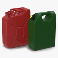 3d model gas cans