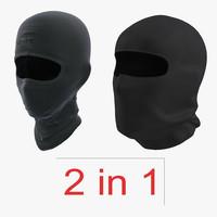 3d model swat face masks