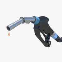 gas nozzle obj