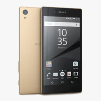 3d model sony xperia z5 gold