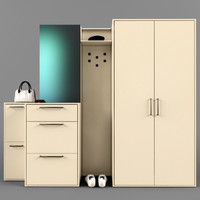 3d model wardrobe coupe