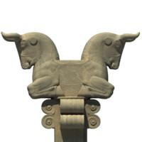3d persepolis bull capital