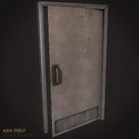metal door 02 3d max