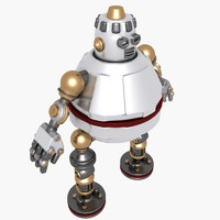 3ds max fat robot