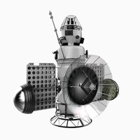 maya zond 3 spacecraft