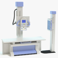 3d model x-ray machine
