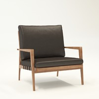 3d model chair blava