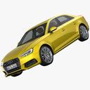 Audi A4 3D models