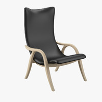 frits henningsen signature chair 3d model