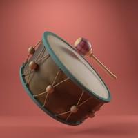 drum 3ds