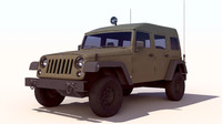 wrangler military jeep sufa 3d max
