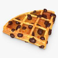 realistic waffle raisins v2 max