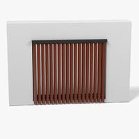 3d model window blinds
