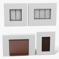 windows blinds 3d 3ds