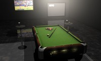 3ds max pool table billiard balls