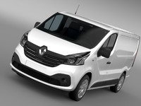 Renault Trafic Van 2015