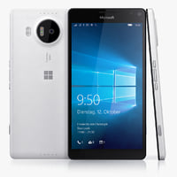 3d microsoft lumia 950 xl model