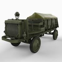 ww1 nash quad truck max