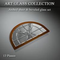 art glass 3d model