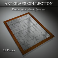 3d 3ds art glass window