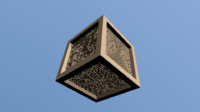 free cube maze 3d model