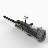 3d m2 machine gun