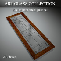 art glass 3d max