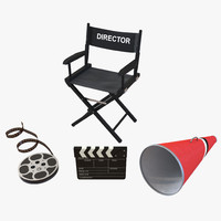 Director Chair and Accessories Collection 3