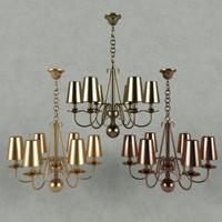 3d model fine art lamp classic