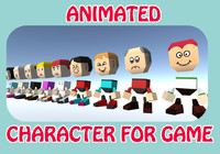 3ds max ready character
