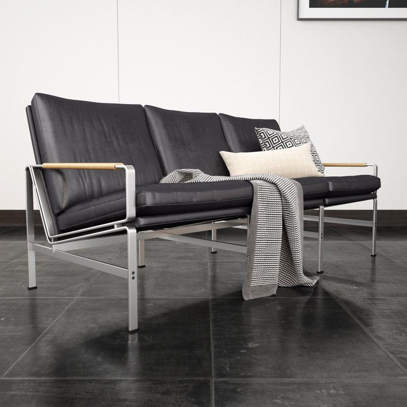 3ds max fk 6720 sofa. Black Bedroom Furniture Sets. Home Design Ideas