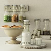 Pottery Barn  Glass Carafe