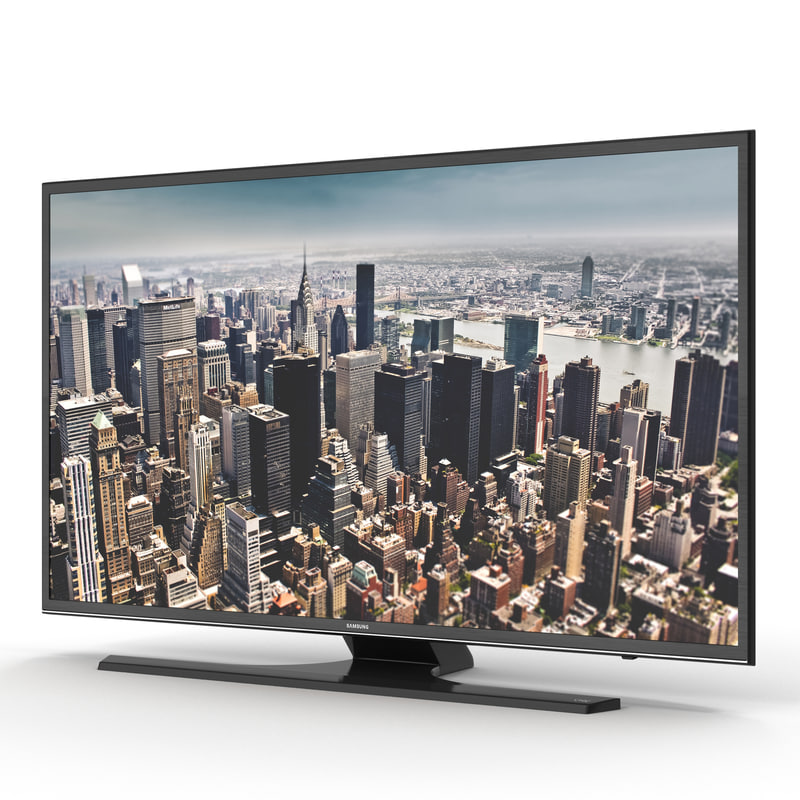 Samsung 4K UHD JU6500 Series Smart TV 75 inch 3d model 01.jpg