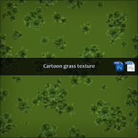 Seamless Cartoon Grass