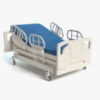 3d hospital bed