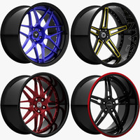 rims luxury wheels 4 3d obj
