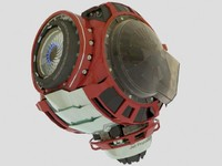 eye droid 3d obj