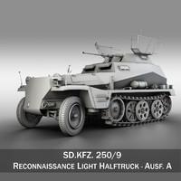 3d sd kfz 250 9