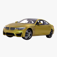 bmw m4 coupe 2015 3d max