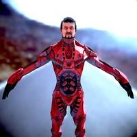 3d model sci-fi male character