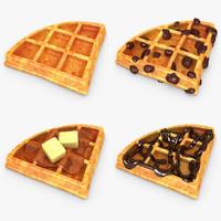 max realistic waffle v2 set