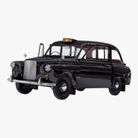 london cab fx4 rigged max