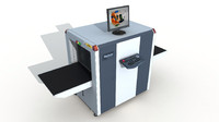 baggage x-ray scanner 3d max