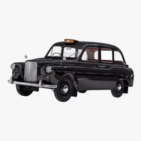 3d london cab fx4 model
