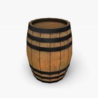 free normal barrel 3d model
