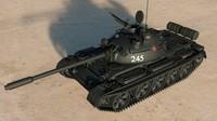 T-55 Soviet Tank