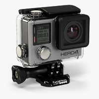 gopro hero4 silver edition 3d max